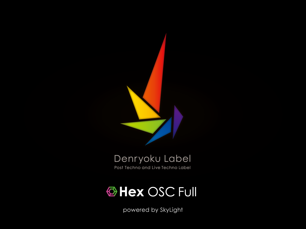 Hex OSC Full Ver 1.5.0 Splash